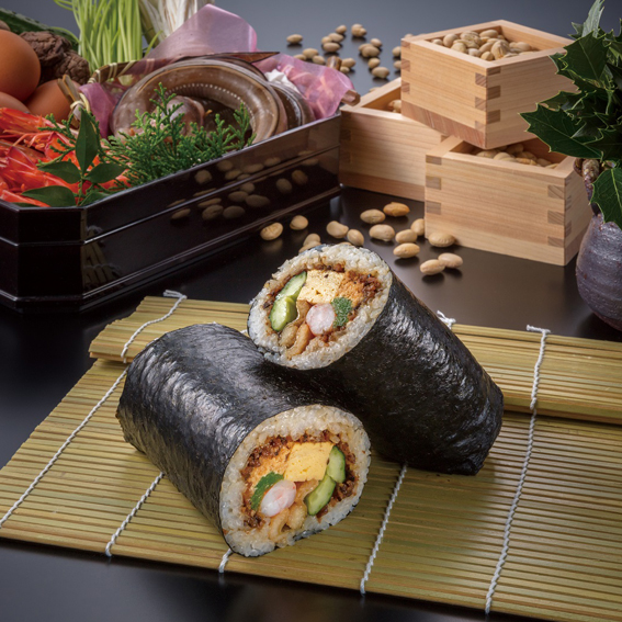 日本料理「華雲」の恵方巻