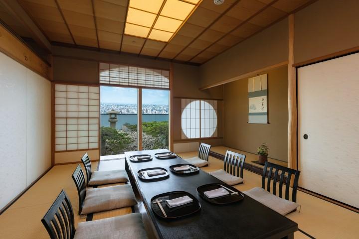日本料理「京都 つる家」 座敷