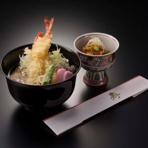 海老天ぷらそば 小鉢