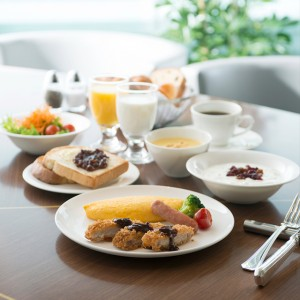 Marriott Breakfast Stay 朝食付き