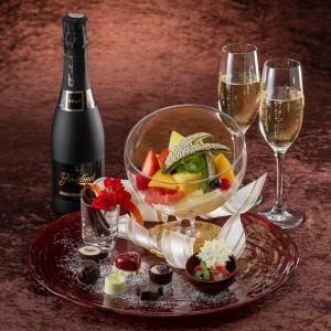 【Marriott Valentine Stay】スパークリングワイン&チョコレート付