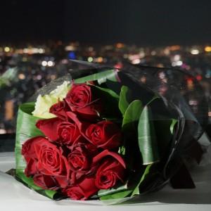【 ディナー&ローズブーケ付き】GO TOプロポーズプラン~Memorial Proposal Plan~