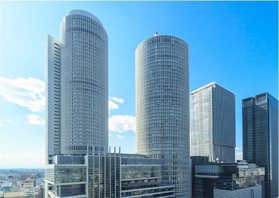 名古屋マリオットアソシアホテルを出発