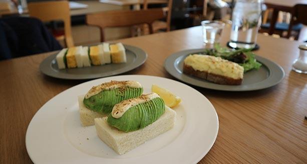 奈良食材を使ったサンドイッチが自慢の「囀」