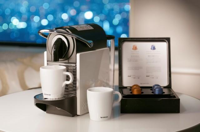 カプセル式コーヒーマシン