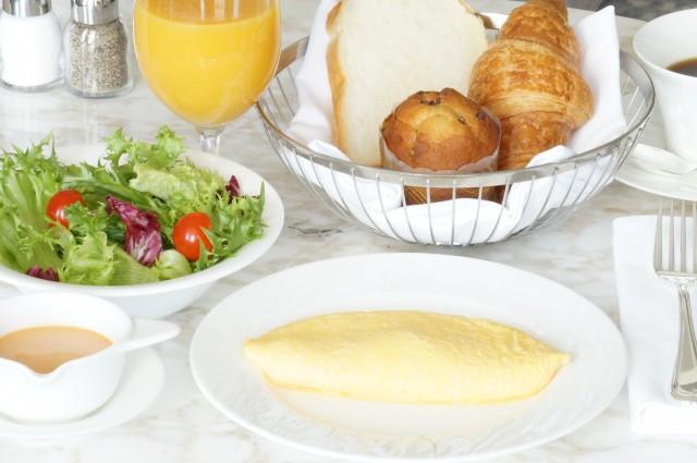 ルームサービス ご朝食一例