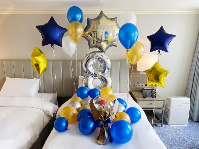 パターンC 誕生日ブルー