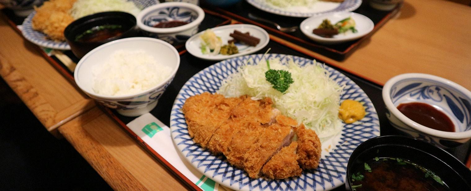 Pork cutlets Katsumaru