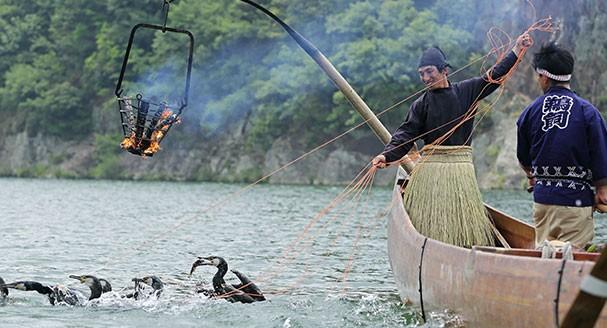 Kiso River Ukai (Ukai excursion ship plan at noon)