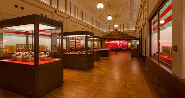Exhibition Rooms in Main Building