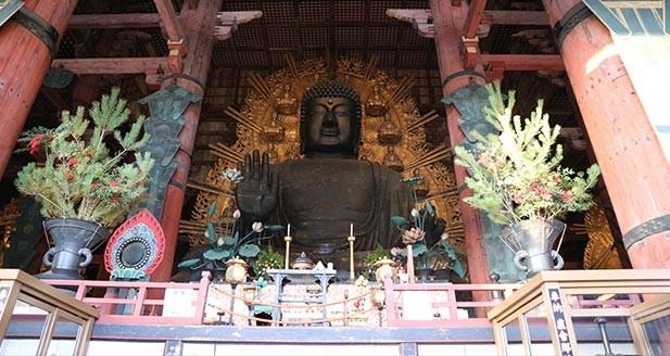 与奈良的象徵见面