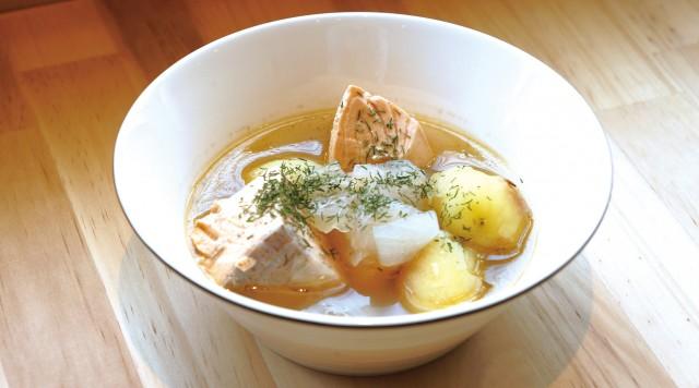 Finnish gourmet soaking in your body