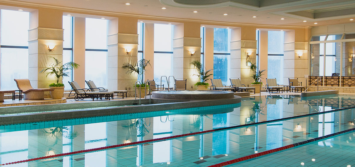 Indoor swimming pool image