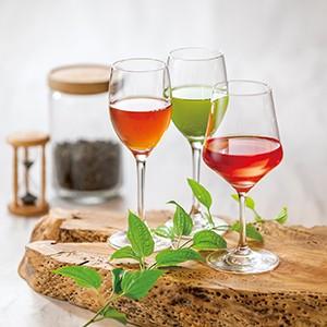 ワイングラスで愉しむティーバリエーション
