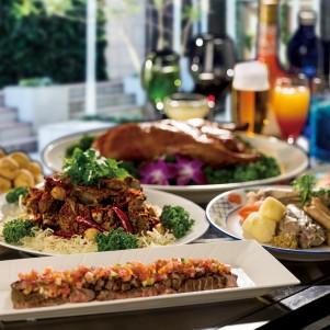 2021年 日にち限定『#肉フェスティバル サマーガーデン ランチ』~#Meat Festival~Summer Garden Lunch ガーデンテラス/宴会場「カトレア」