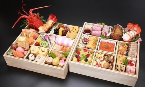 日本料理・フランス料理 二段《限定20個》