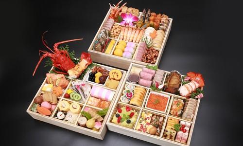日本料理・フランス料理・中国料理 三段 《限定20個》