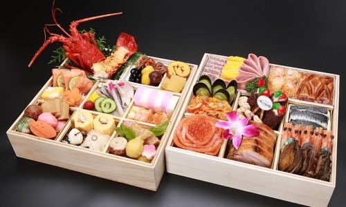日本料理・イタリア料理 二段《限定20個》
