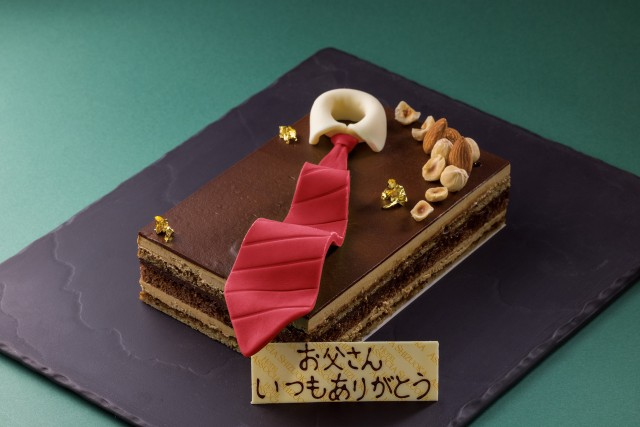 『父の日ケーキ(11×17×4.5cm)』