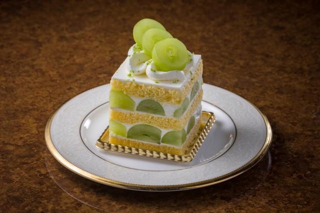 『シャインマスカットのショートケーキ』