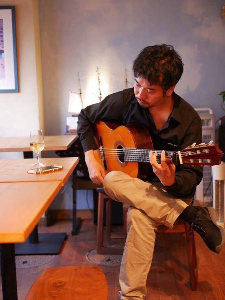 【イタリア料理と音楽の夕べ】~フラメンコギター&ボーカル~