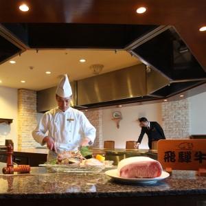 鉄板焼き 峰 web限定ディナー「飛騨」プラン(1泊2食) プランコード:HP120THP