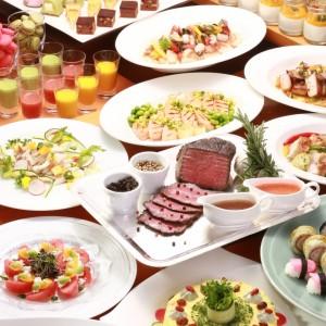 開業記念プラン 感謝の「サンキュー(39)価格」洋食ディナーバイキング付き 1泊2食付 プランコード:HP39F