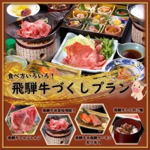 食べ方いろいろ!飛騨牛づくしプラン(プランコード:HP76HD)