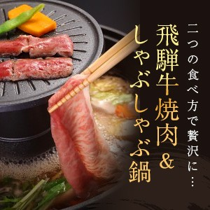 ~飛騨牛味わい会席~ 飛騨牛焼肉&味しゃぶ鍋&握り寿司
