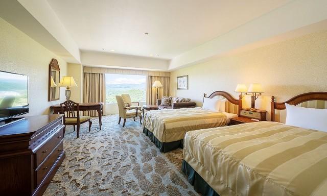 客室例 46㎡ 高層階 デラックスツイン