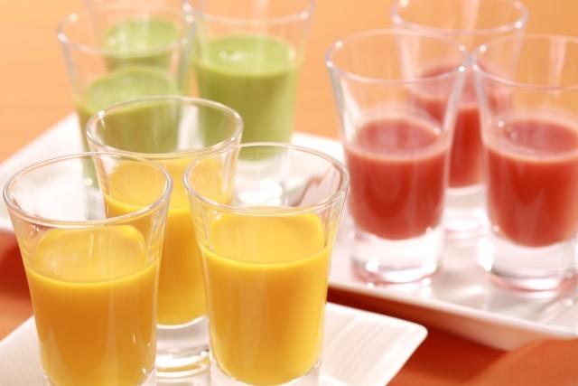夏野菜の冷製スープ