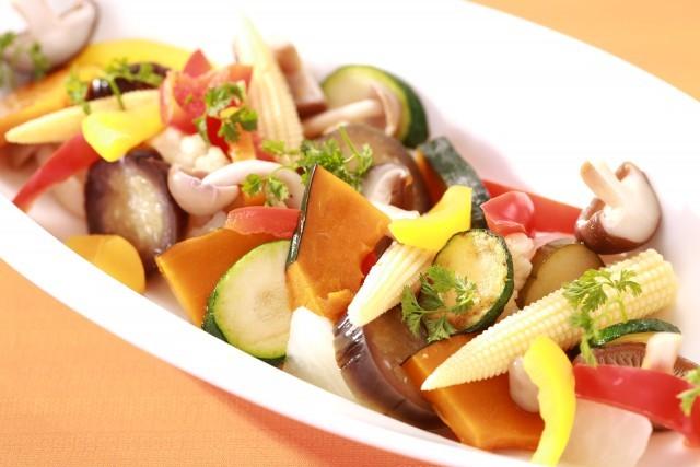 季節野菜のマリネ