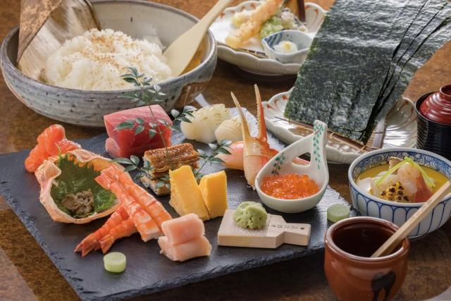 <b>< お盆スペシャル > 手巻き寿司コース</b>