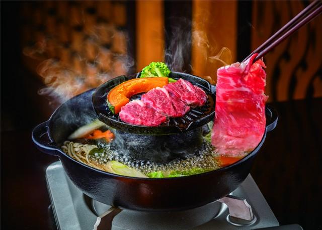 和食レストラン穂のはな 焼きしゃぶ鍋