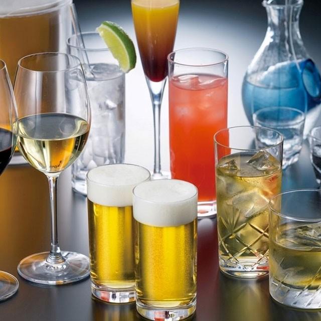 アルコール飲み放題付きはネット予約限定でお値打ちに