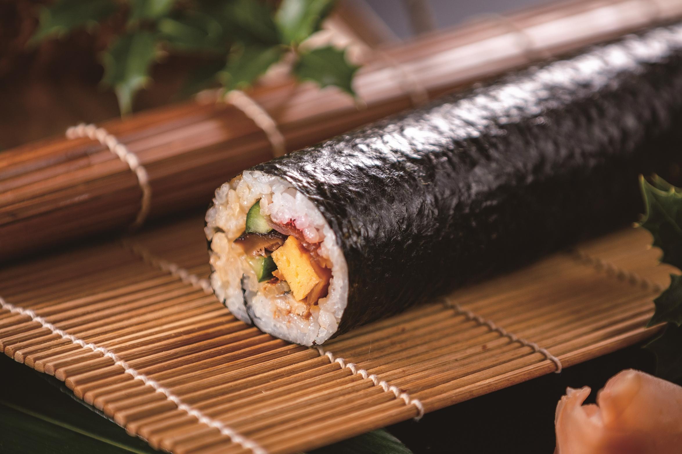 和食レストラン「穂のはな」の恵方巻